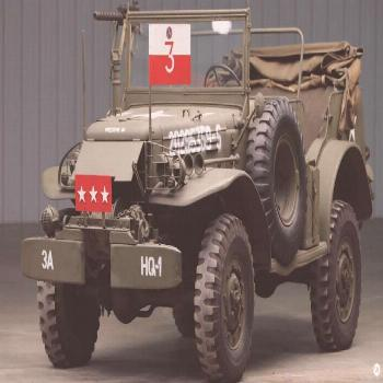 Coolness Overload: General Pattons WWII Dodge WC-57 Command Car Is For Sale