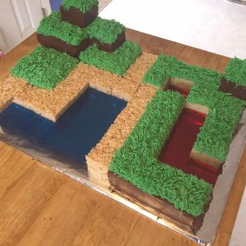 Easy Minecraft Cake For Boys Game of thrones Game of thrones  easy minecraft cake for boys, easy mi