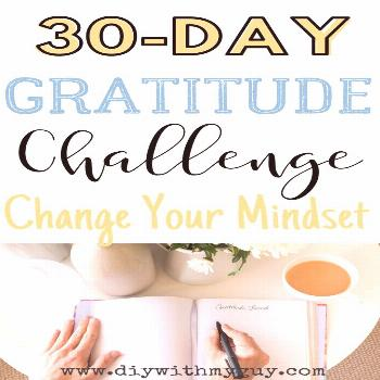 How to Have an Attitude of Gratitude - DIY With My Guy Can gratitude change your life? Yes, it can.