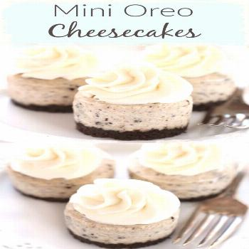 Mmmm, Mini Oreo Cheesecakes are a delicious delight to any Oreo lover! This dessert features an eas