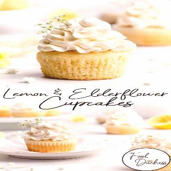 These cute little cupcakes feature lemon flavored cupcakes, which are colored a delightful and brig